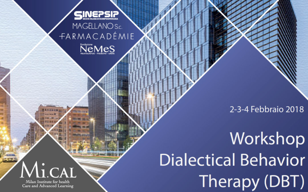 02/02/18 – WORKSHOP DIALECTICAL BEHAVIOR THERAPY (DBT)