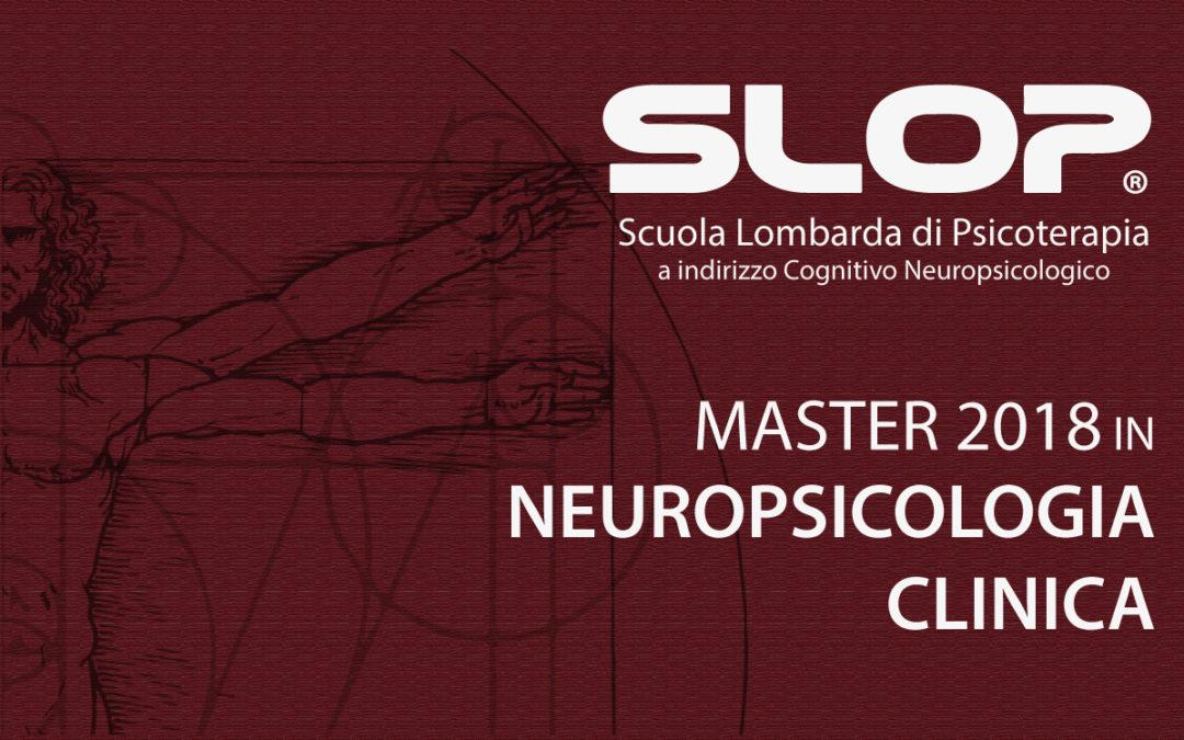 GEN/LUG 2018 – MASTER IN NEUROPSICOLOGIA CLINICA