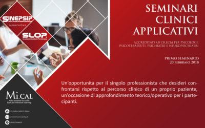27/02/18 – 2° SEMINARIO CLINICO APPLICATIVO