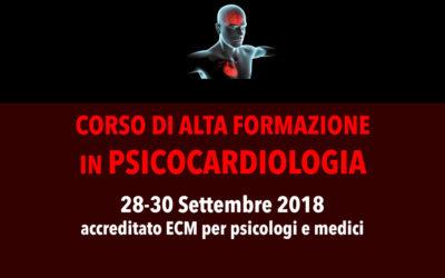 28-30/09/18 – CORSO DI ALTA FORMAZIONE IN PSICOCARDIOLOGIA