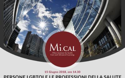 15/06/18 – PERSONE LGBTQI E LE PROFESSIONI DELLA SALUTE