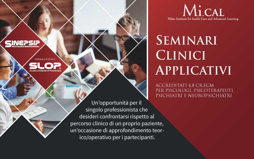 19/03/19 – 10° SEMINARIO CLINICO APPLICATIVO
